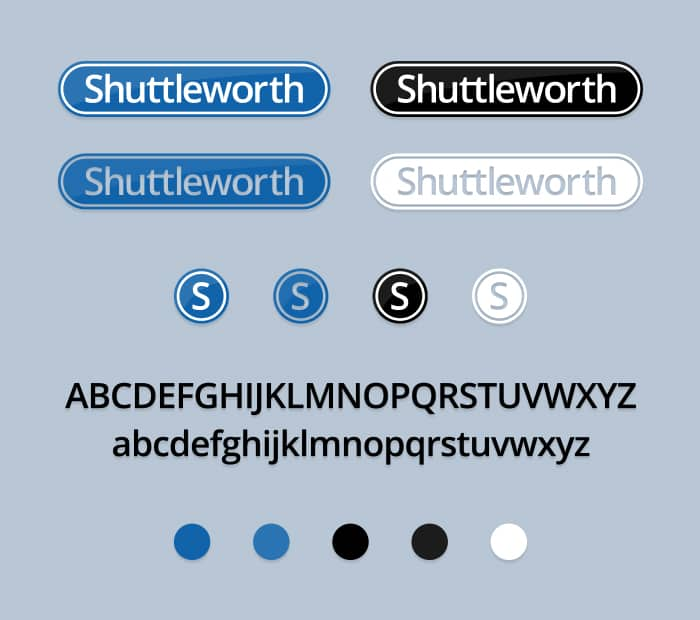 Shuttleworth Logo Design Board