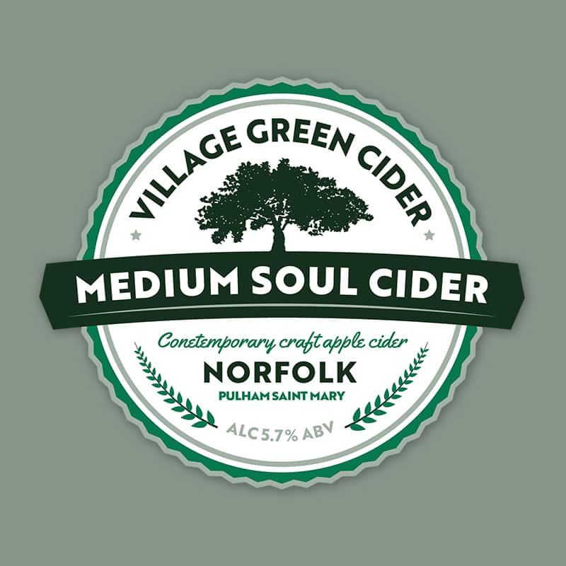 Norfolk Medium Cider Green Pump Clip