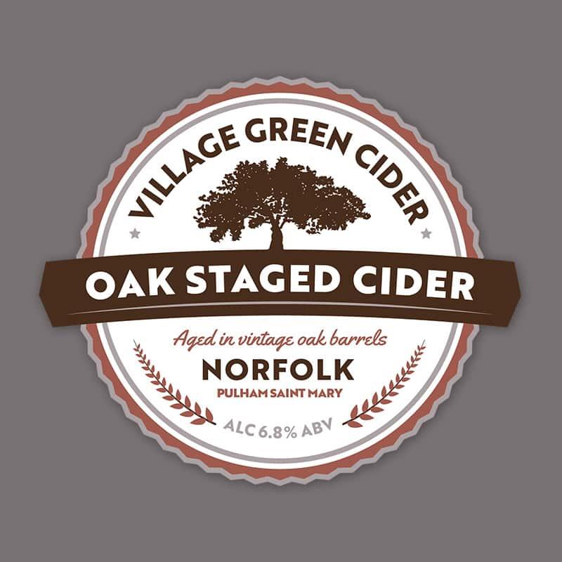 Norfolk Oak Cider Red Pump Clip