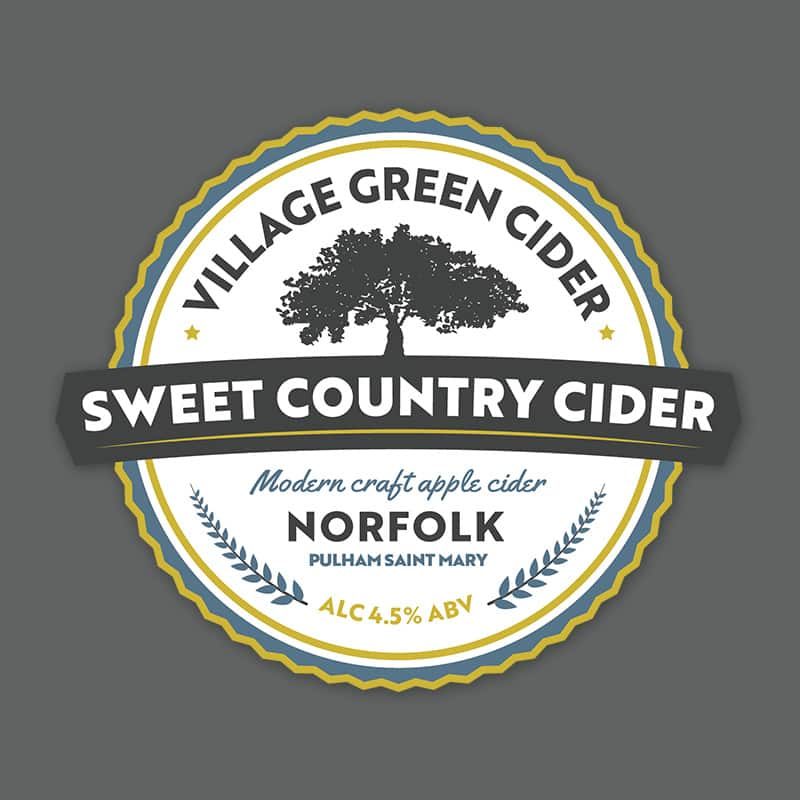 Norfolk Sweet Cider Yellow Pump Clip