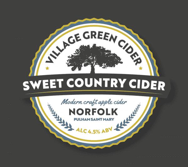 Norfolk Cider Sweet Pump Design