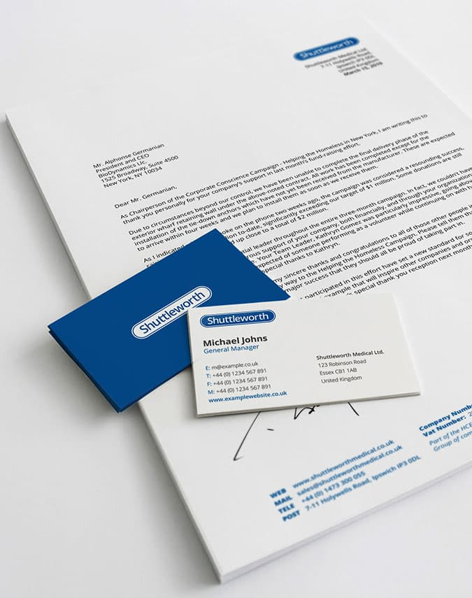 Brand Identity & Business Card