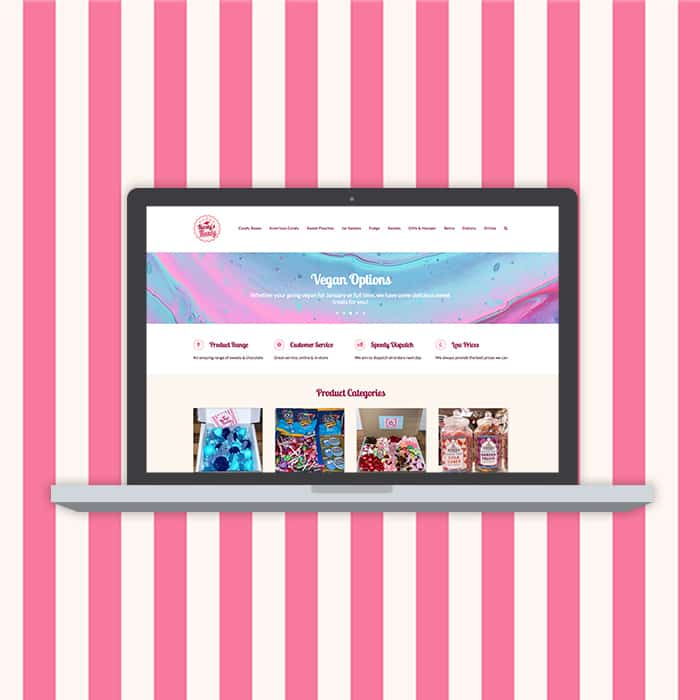Kirstys Kandy Website Cover Image