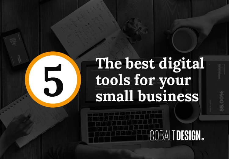 Five digital Tools for Business Cover Social Card