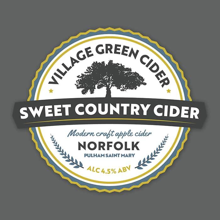 Norfolk Cider Branding