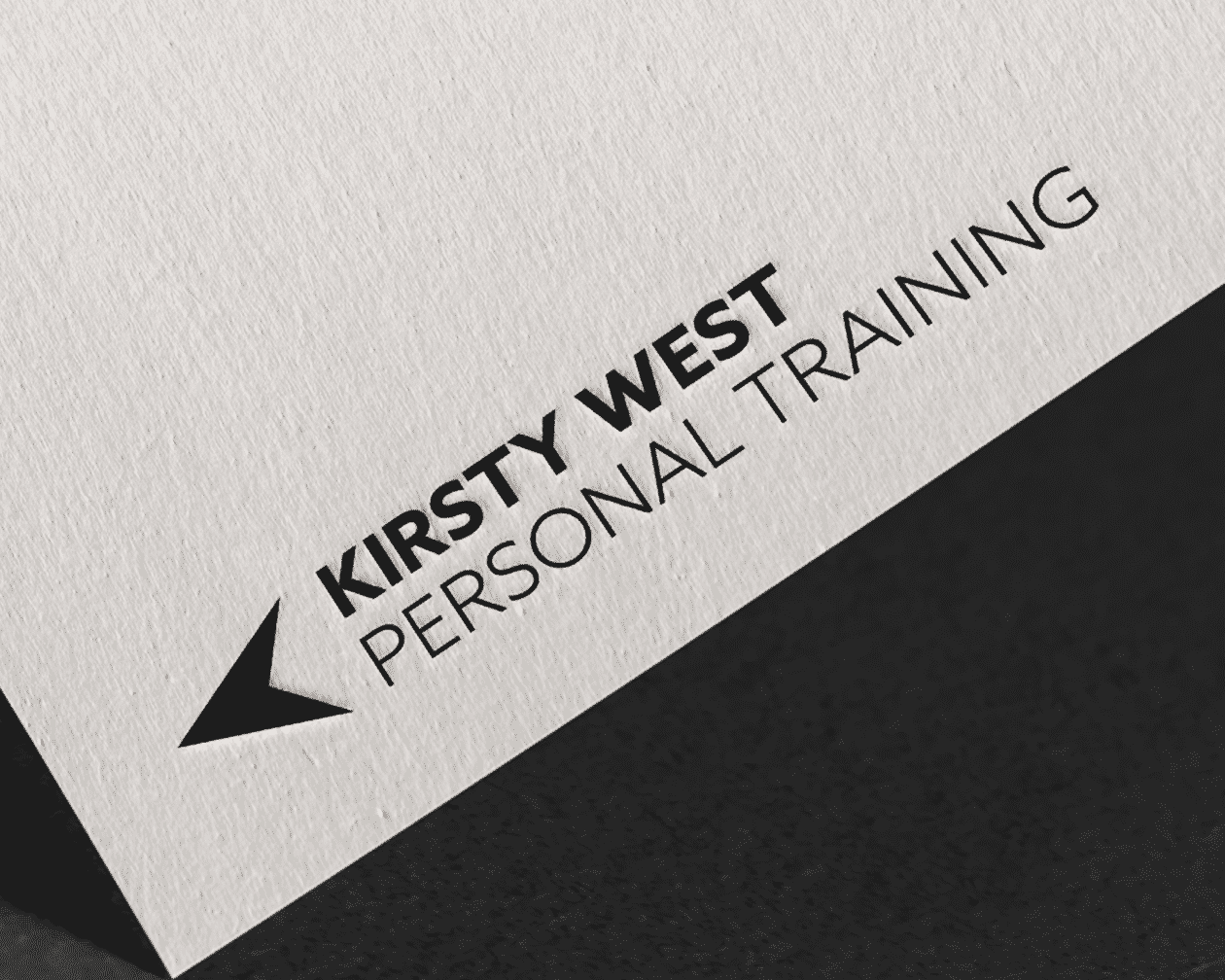 Kirsty West Logo on Paper