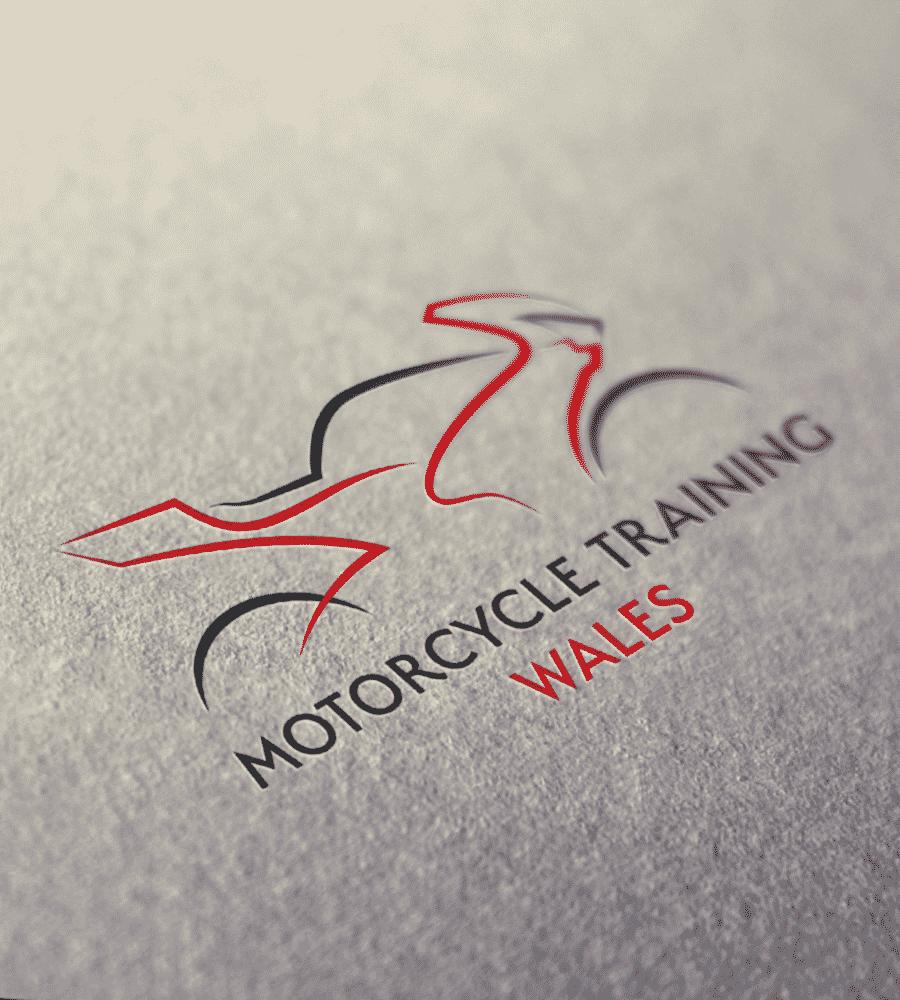 Motorcycle Training Logo Printed on Paper